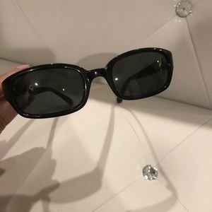 Calvin Klein sunglass black. Used condition
